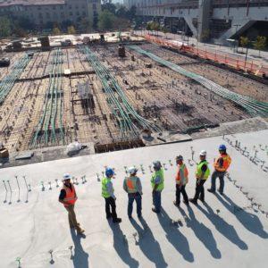 Trabajos de Montaje de Prefabricados de Hormigón en Obra