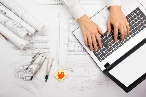 administrativo construcción